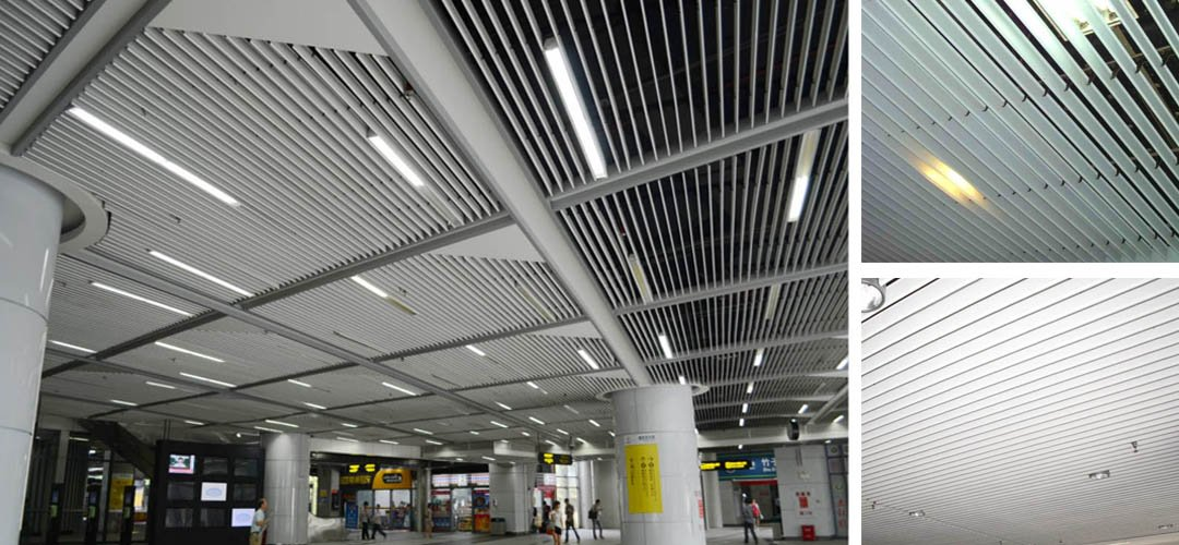 Screen ceiling system